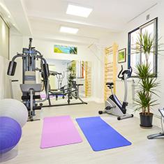 Salle de sport du cabinet de kinésithérapie KB7 à Toulouse
